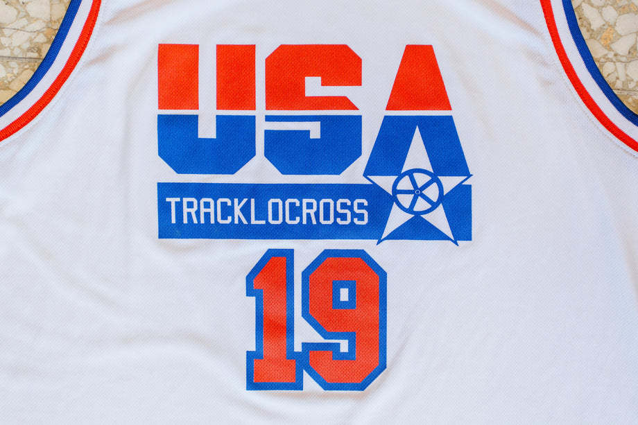 USA Tracklocross Basketball Jersey