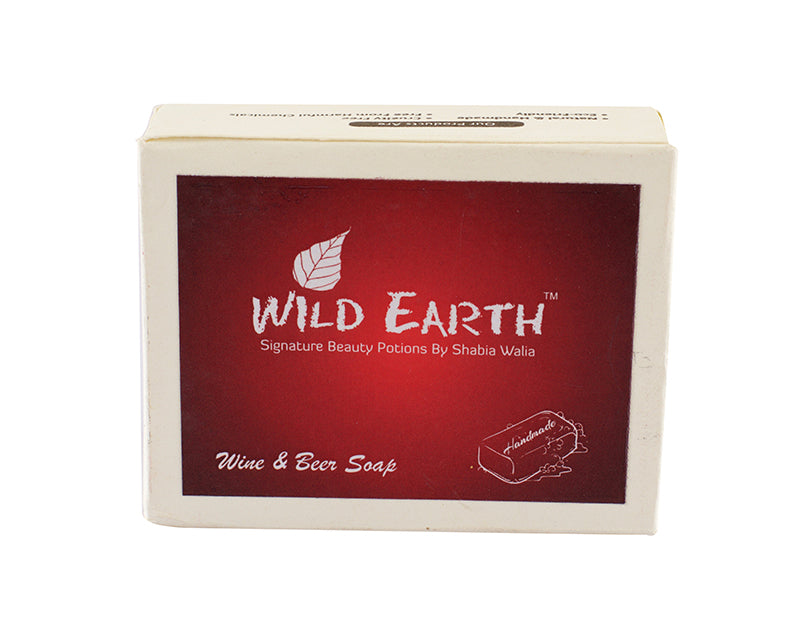 Wild Earth Drunken Wine and Beer Soap