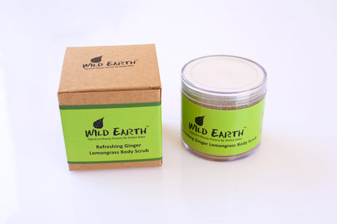 Wild Earth Refreshing Ginger Lemongrass Body Scrub