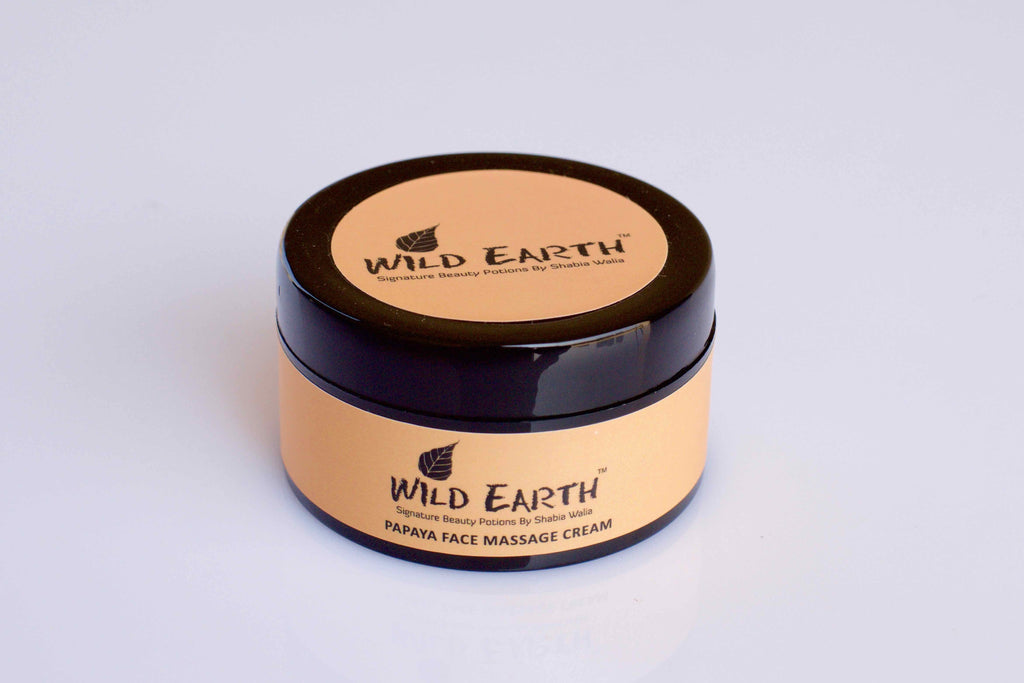 Wild Earth Papaya Face Massage Cream (50 gms)