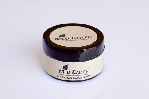 Wild Earth Almond Face Massage Cream (50 gms)