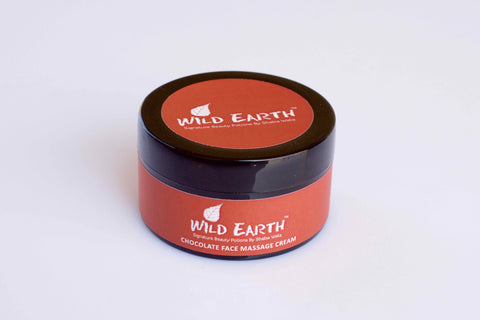 Wild Earth Chocolate Face Massage Cream (50 gms)