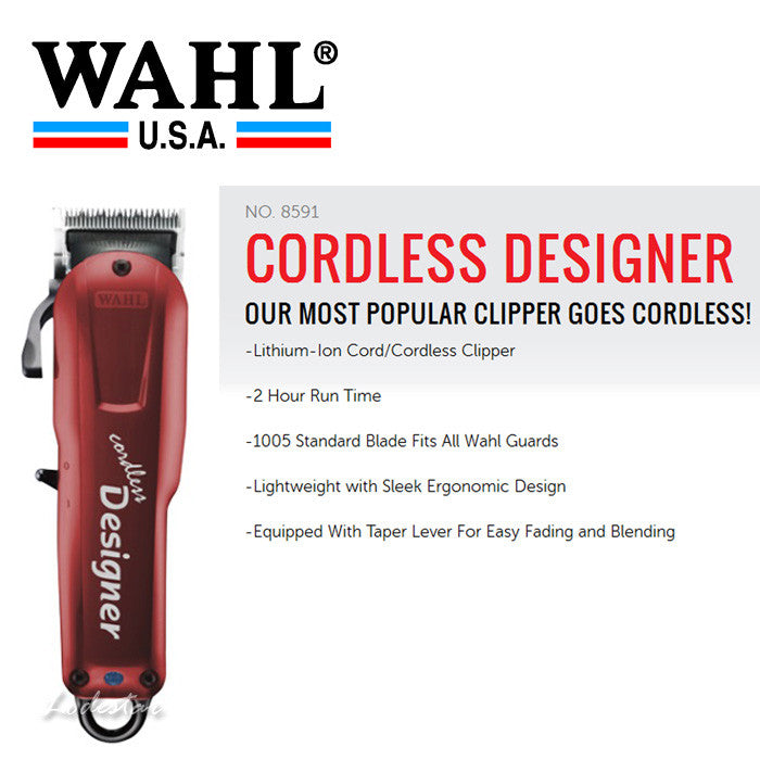 Wahl Designer Professional Clipper-Cordless