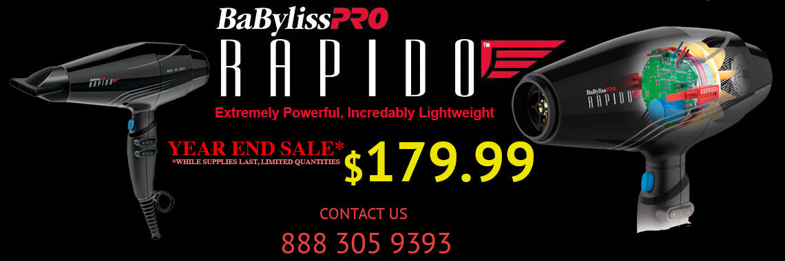 BABYLISS RAPIDO, BABYLISS, BLOWDRYER, salon backbar