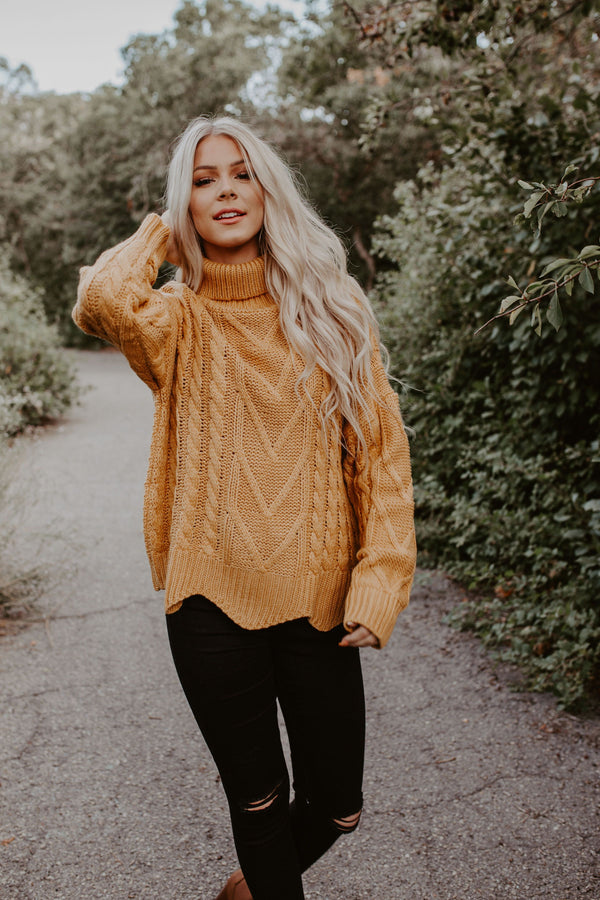 Rich Harvest Sweater