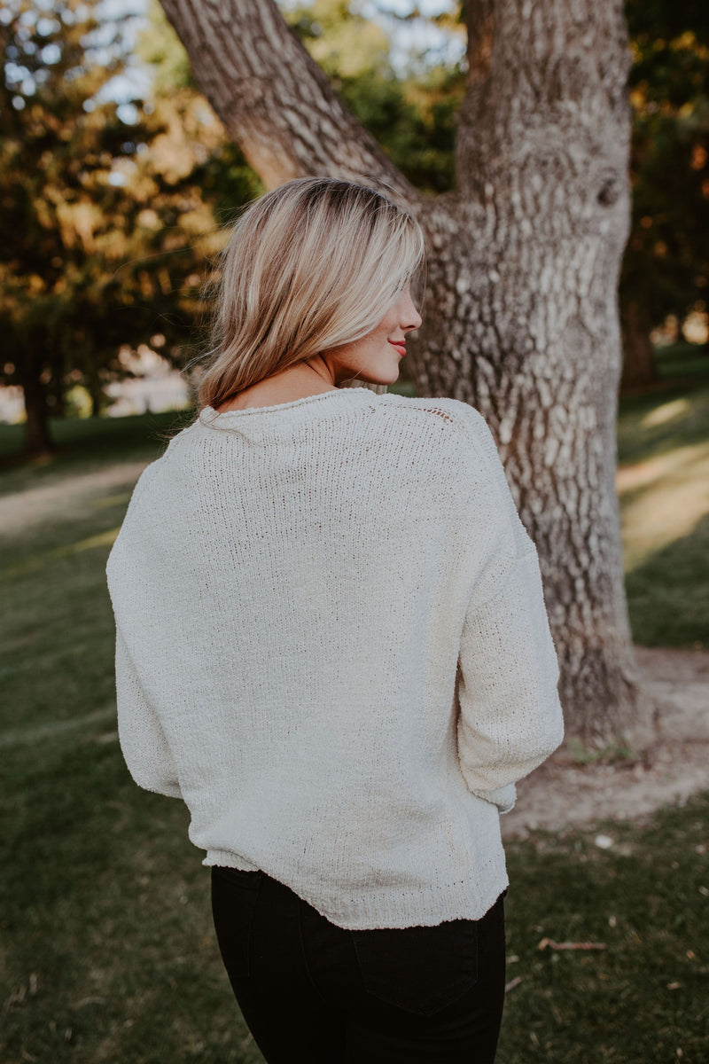 Forever Yours Sweater - 3 Colors