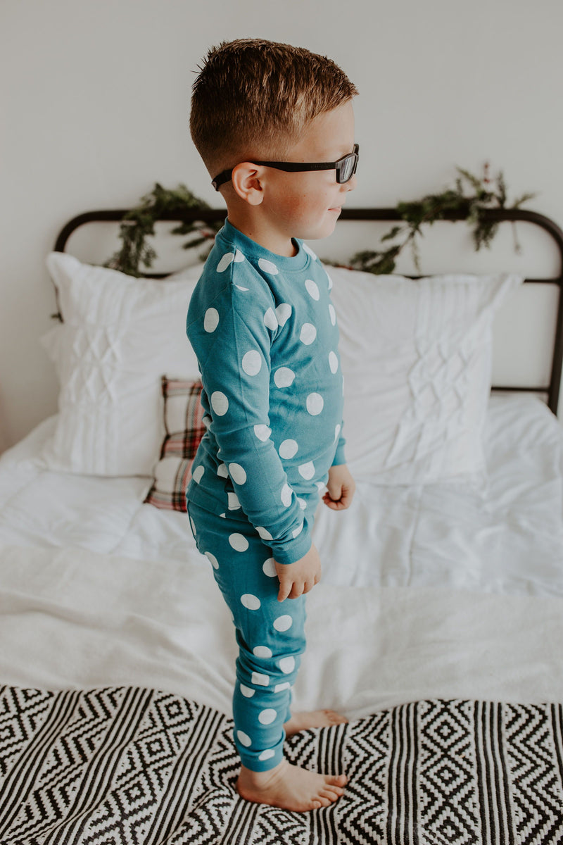 Polka Dot Pajama Set - 2 Colors