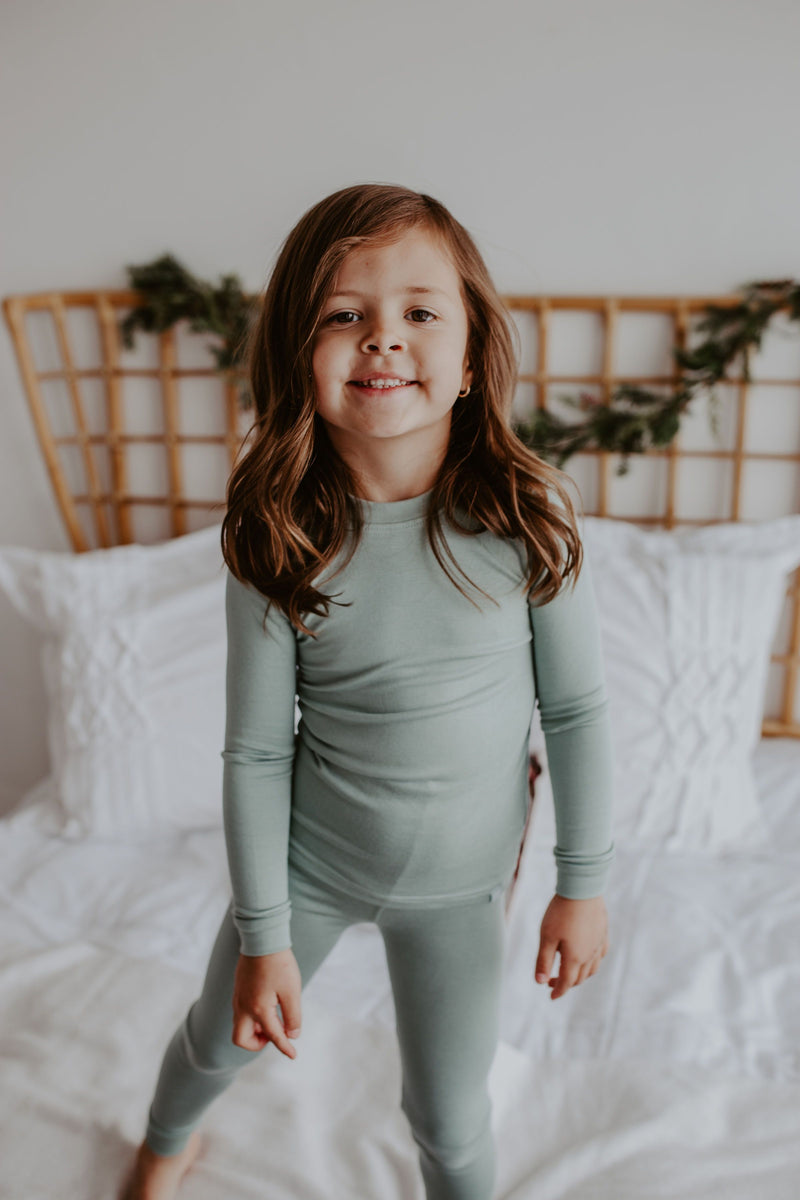 Solid Pajama Set - 9 Colors