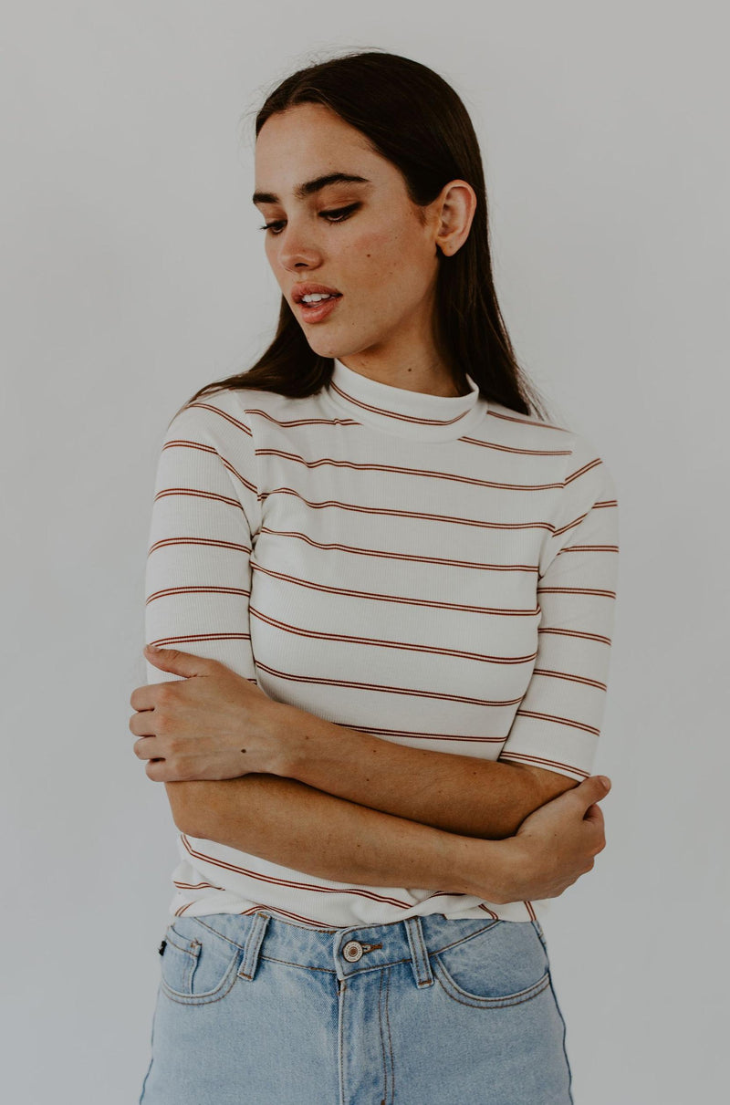 Lenon Striped Top