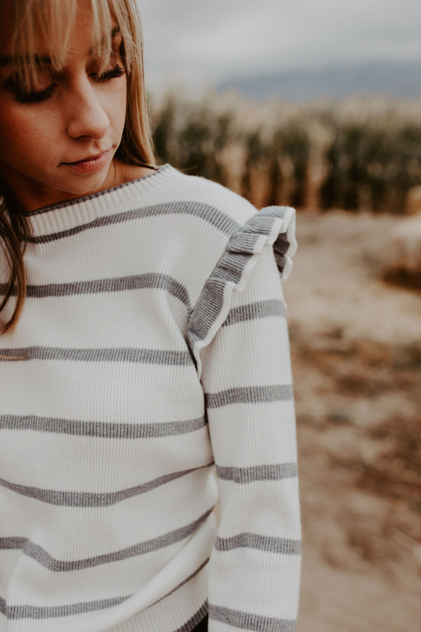 On The Line Sweater