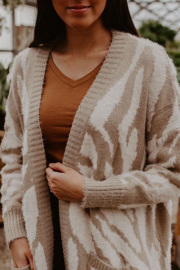 On Safari Cardigan