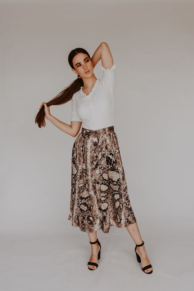 Born To Be Wild Skirt