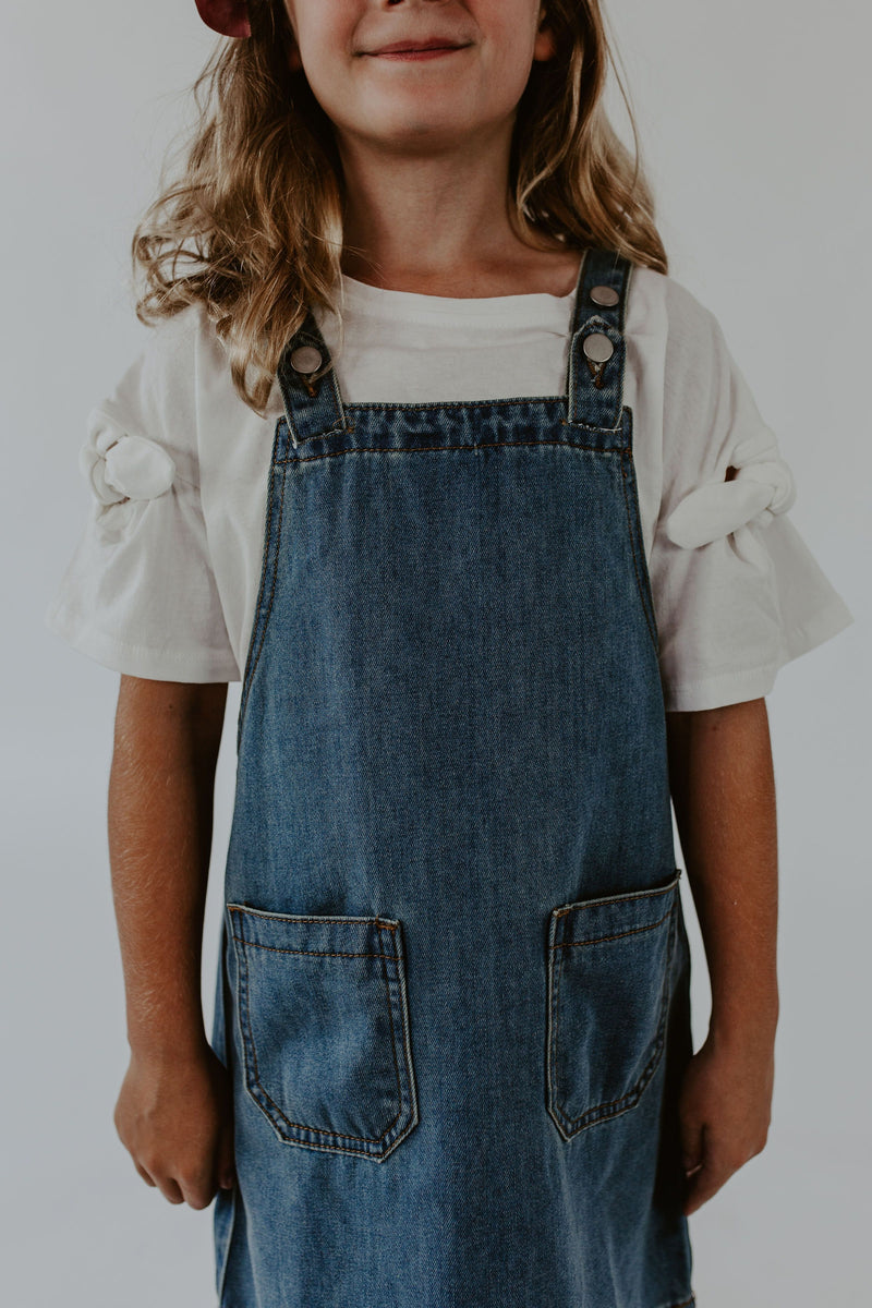 Noelle Denim Jumper