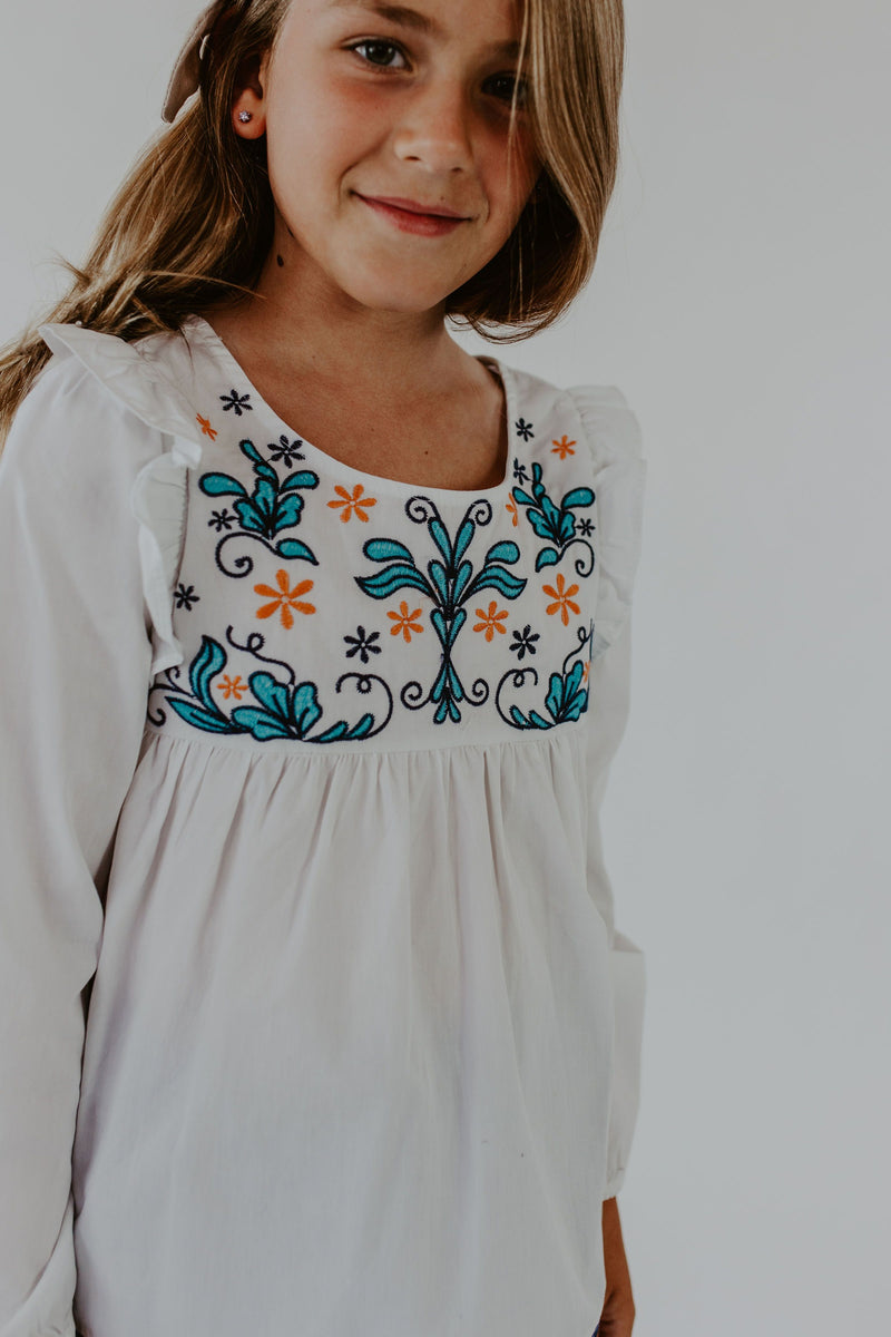 Josie Embroidered Top
