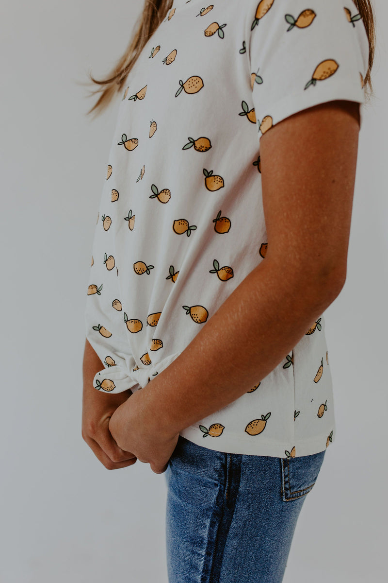 Lemon Knot Tee