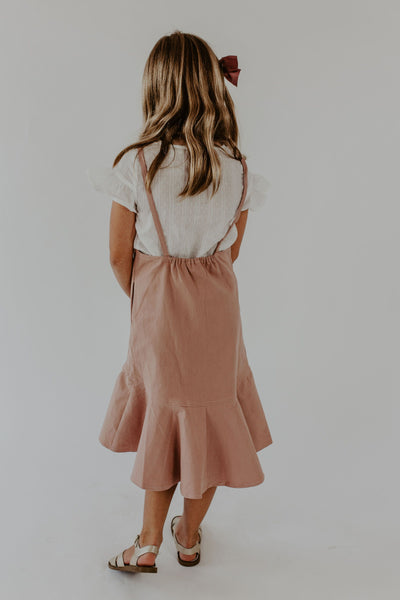 Mini Lockhart Overall Dress
