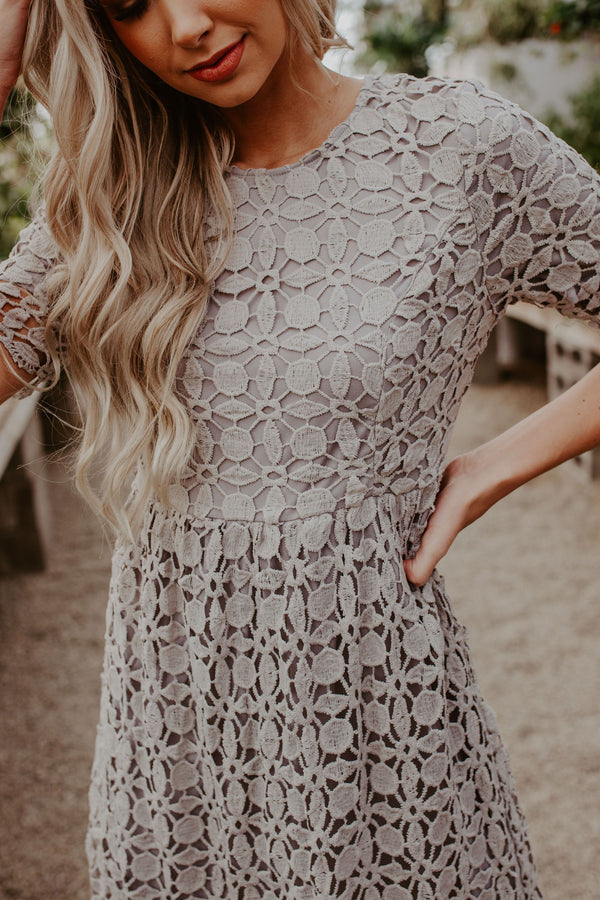 Lucky Lace Dress - 2 Colors