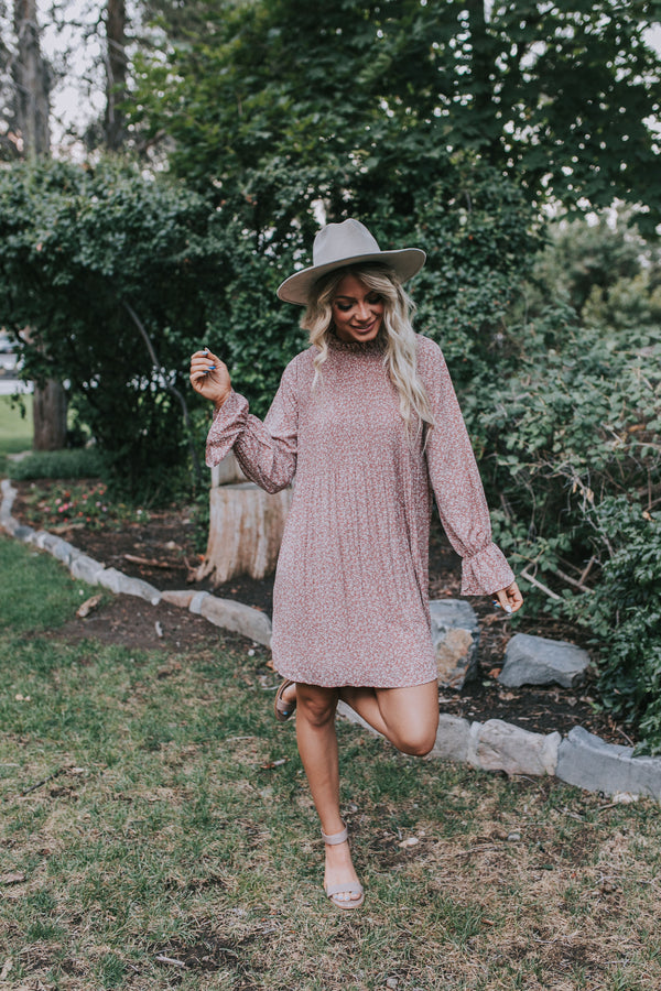Fall Into Spring Dress