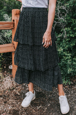 Storie Dotted Skirt