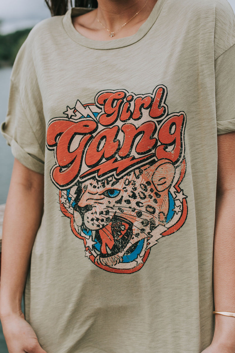 Leopard Girl Gang Graphic Tee