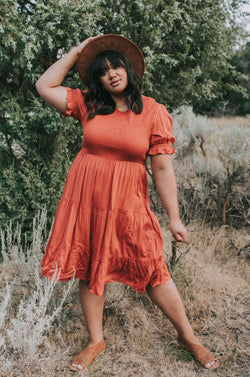 PLUS SIZE - All Of Me Dress - 2 Colors