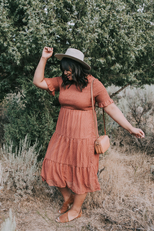 PLUS SIZE - Brooklyn In The Summer Dress