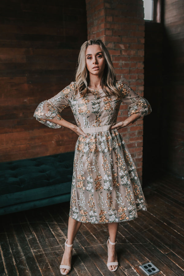 Raleigh Floral Dress