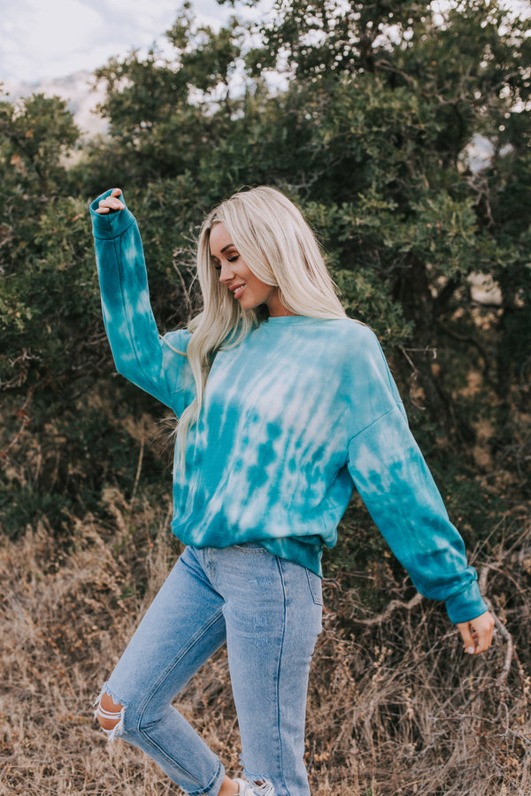 Percy Tie-Dye Pullover