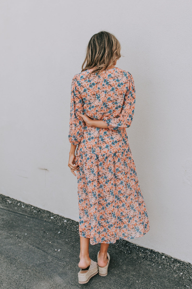 Montgomery Floral Dress - 2 Colors