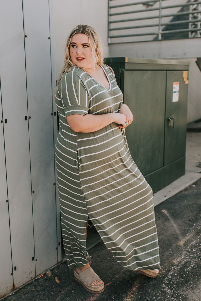 PLUS SIZE - Easton Dress - 2 Colors