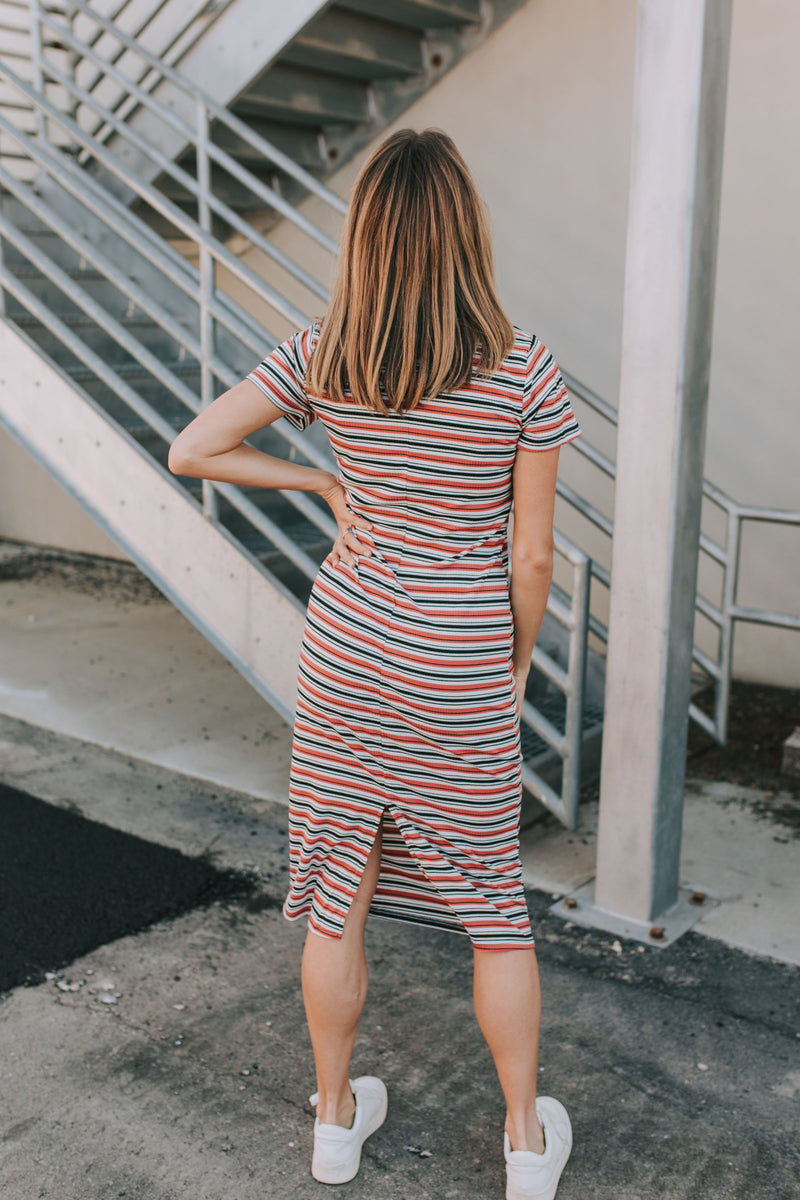 Jessie Striped Dress