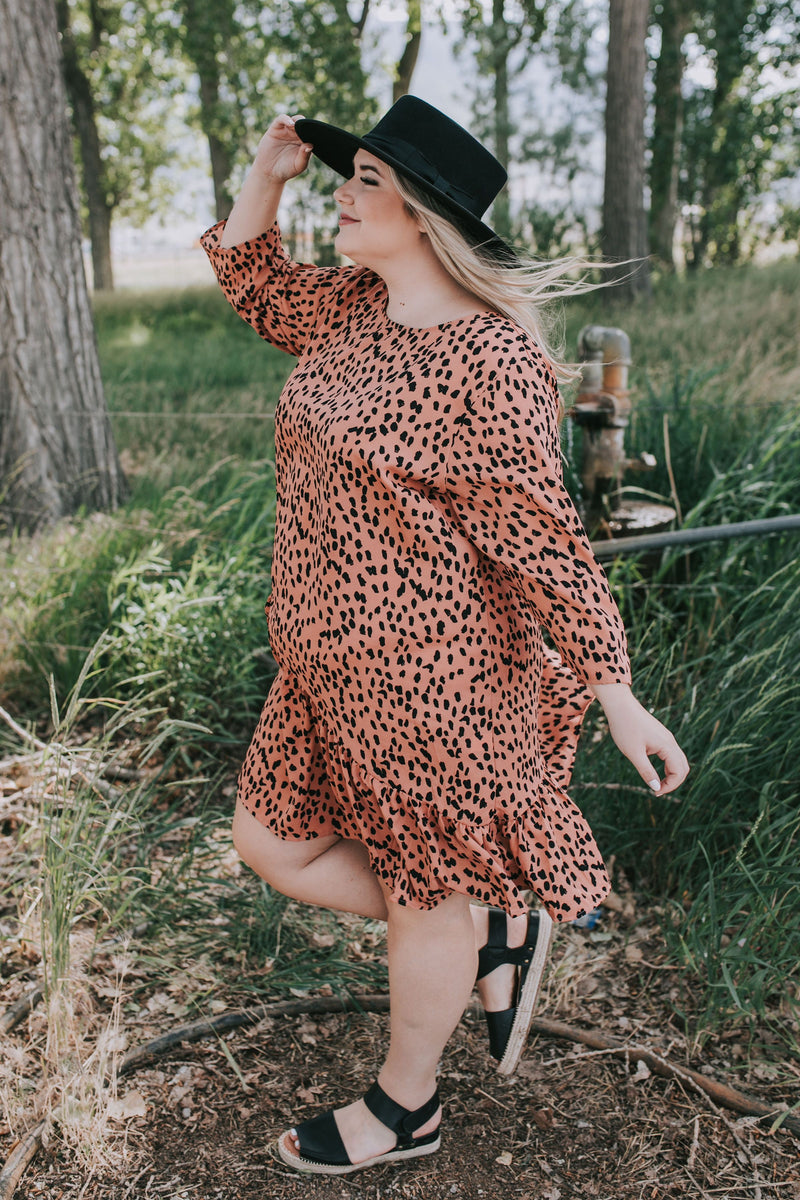 PLUS SIZE - Hear Me Roar Dress
