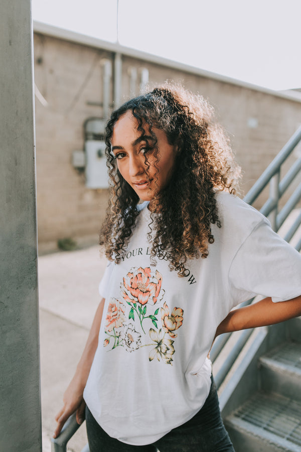 Let Your Love Grow Graphic Tee