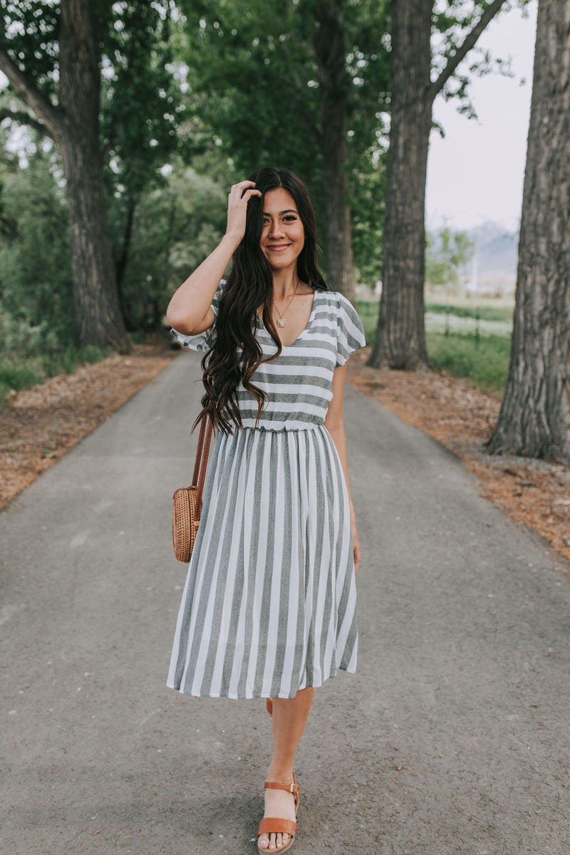Princeton Striped Dress