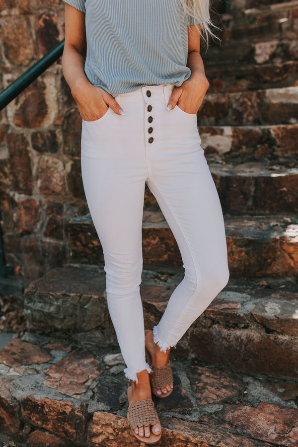 Kayson Jeans in White