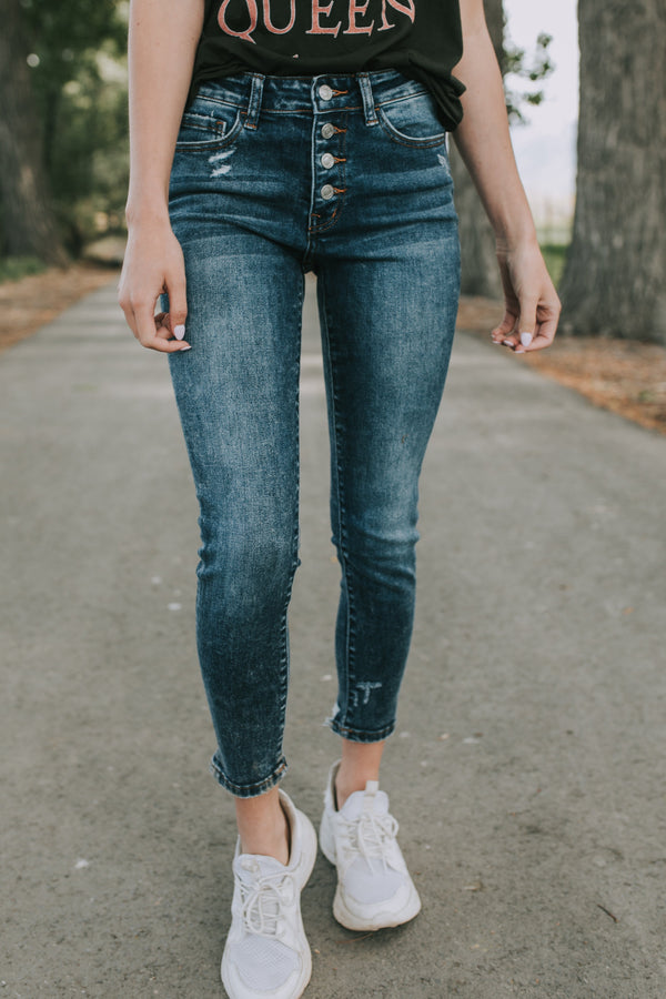 Buttoned Up Jeans