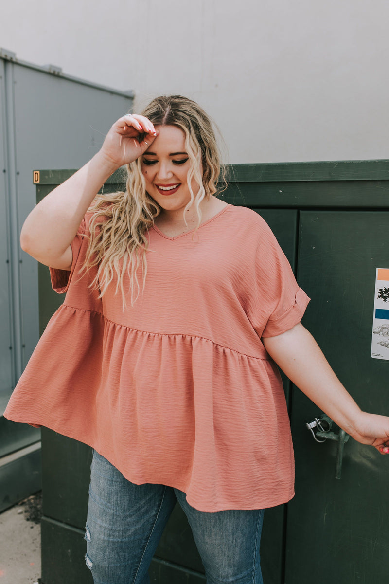 PLUS SIZE - Gemma Top - 2 Colors
