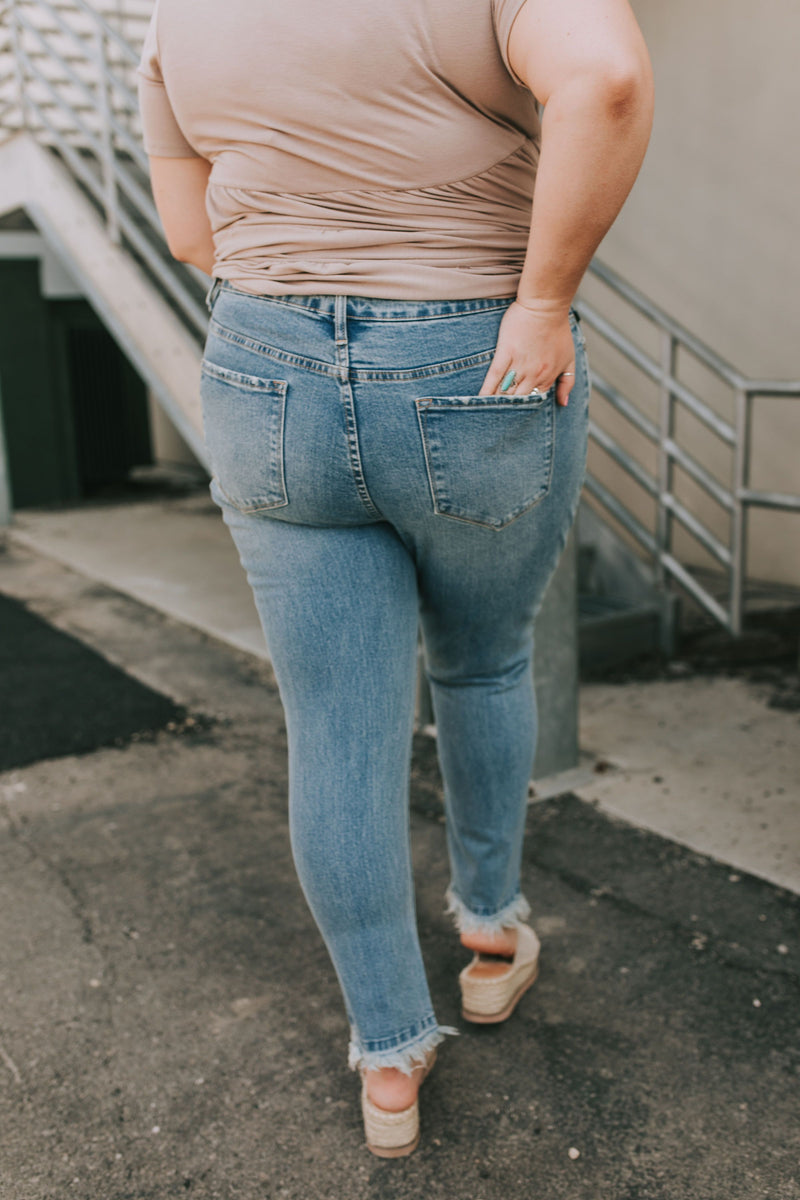 PLUS SIZE - Life's a Highway Jeans