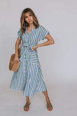 Sailor Dress - 2 Colors