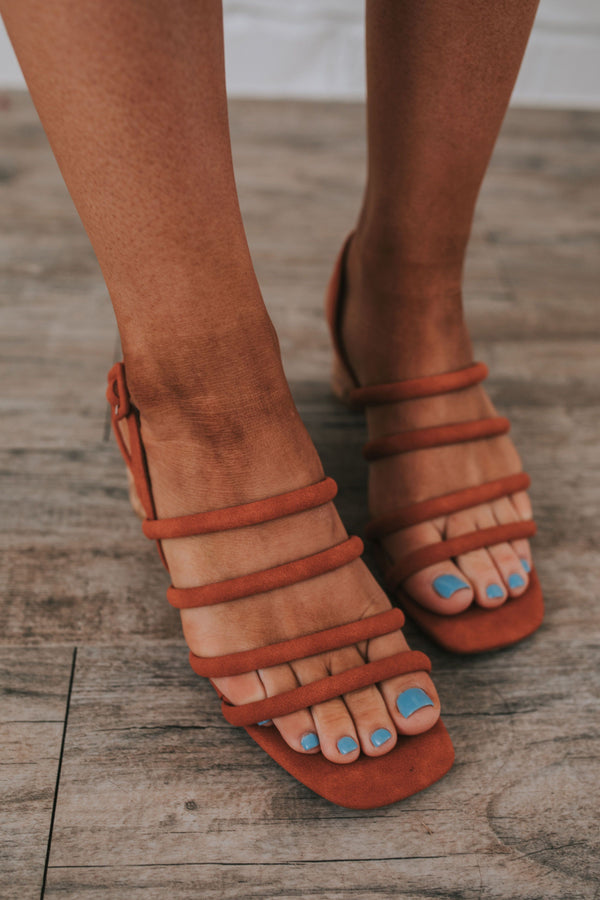 Strap it Down Sandal - 2 Colors