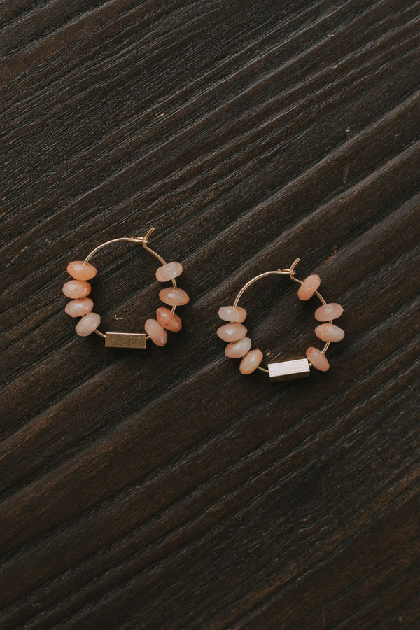 Rosie Hoop Earrings