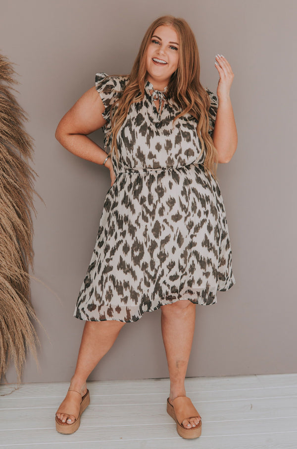PLUS SIZE - Canyon Moon Dress