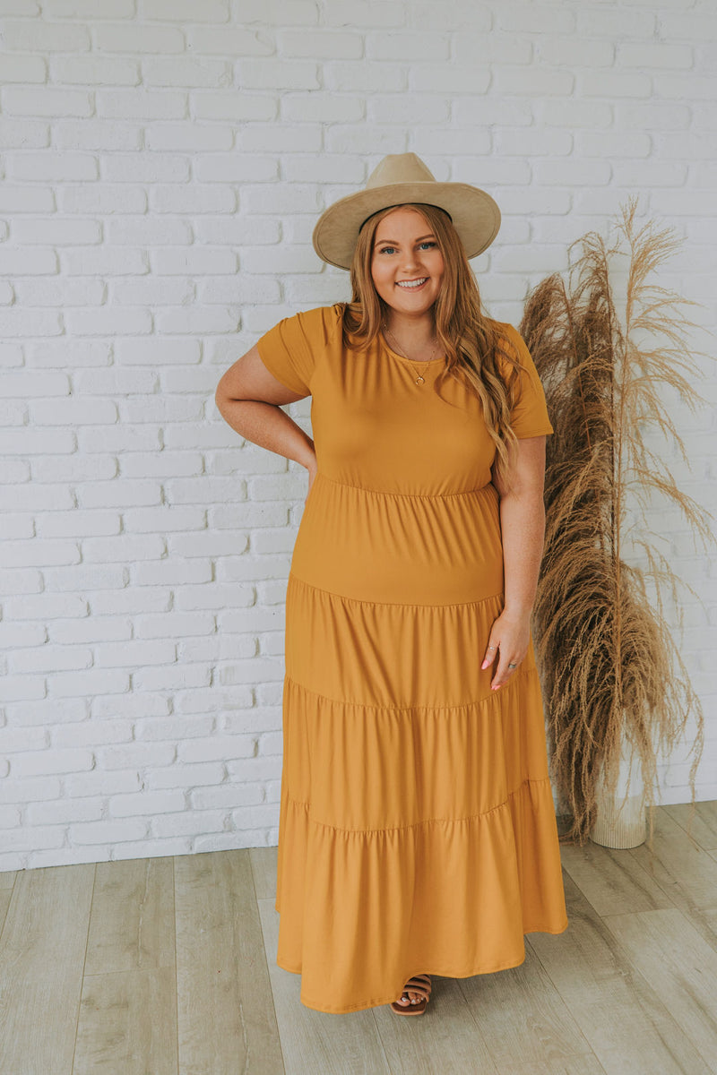 PLUS SIZE - Mckayla Dress