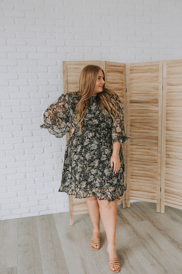 PLUS SIZE - Pierre Dress