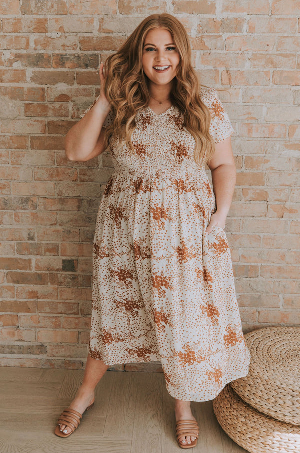 PLUS SIZE - Sweet Caroline Dress