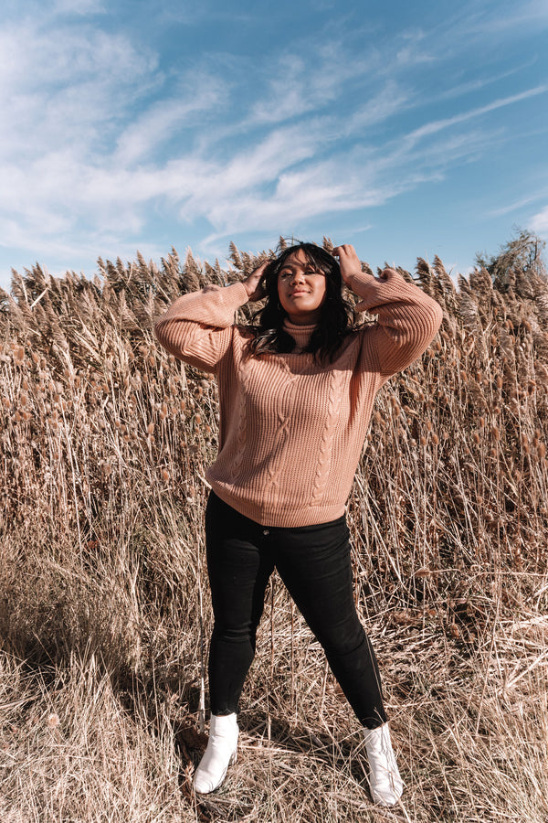 PLUS SIZE - November Sweater