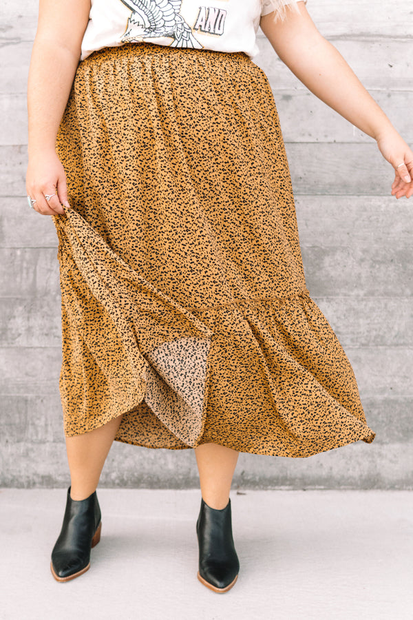 PLUS SIZE - Wild Thing Skirt