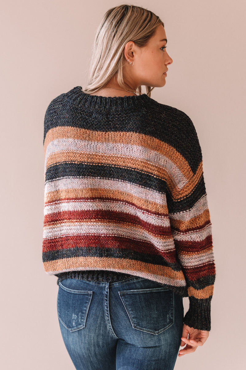 Nixon Striped Sweater