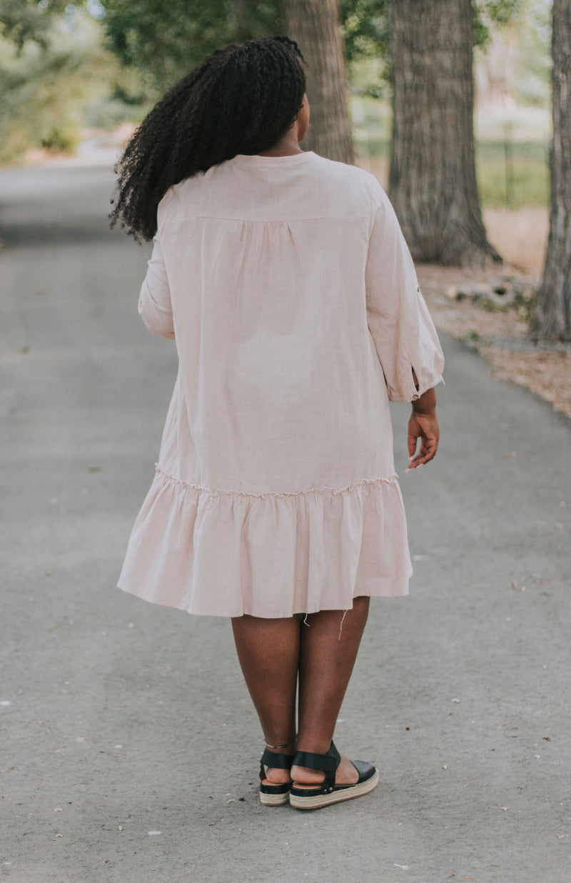 PLUS SIZE - Kingston Dress