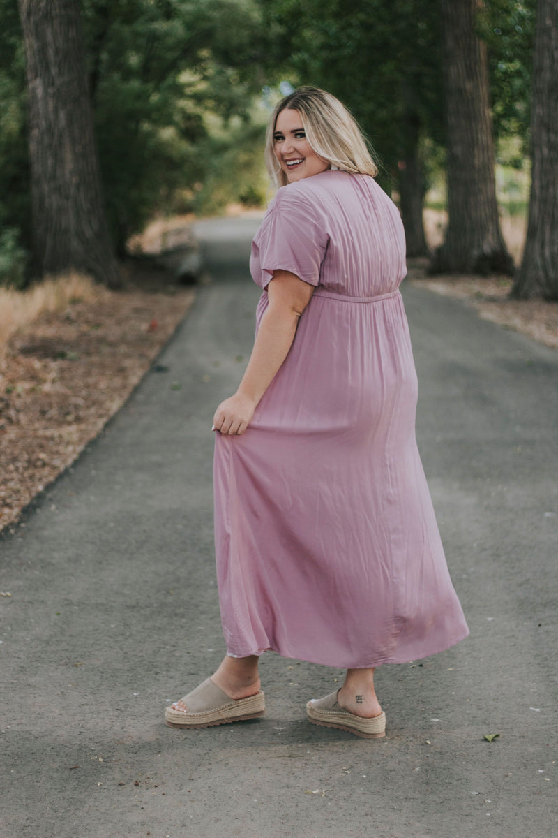 PLUS SIZE - Grace Hill Dress - 2 Colors